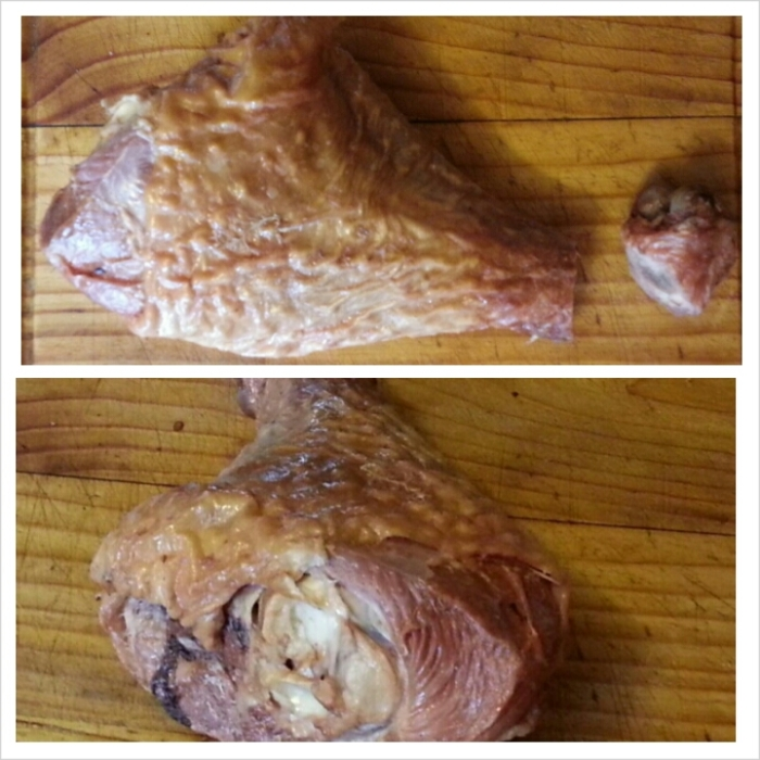 This is a smoked turkey leg. Hands down, best invention since sliced bread.